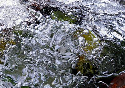 Photograph - Ice Vortex by Sami Tiainen