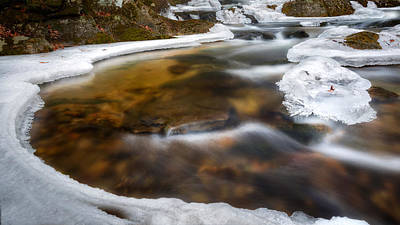 Photograph - Ice Water by Bill Wakeley