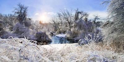 Photograph - Ice Water II by Robin-Lee Vieira