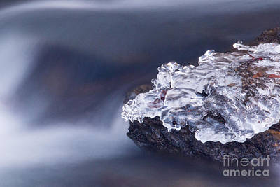 Photograph - Ice Water by Mel Petrey