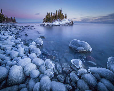 Portage Photograph - Ice World // North Shore, Lake Superior  by Nicholas Parker