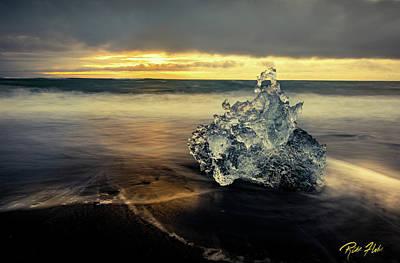 Photograph - Iceberg At Dawn by Rikk Flohr