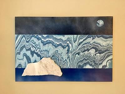 Mixed Media - Iceberg by Brooke Friendly