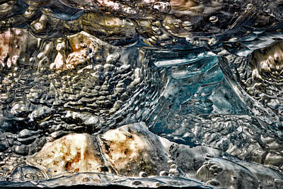 Photograph - Iceberg Details #2 - Iceland by Stuart Litoff