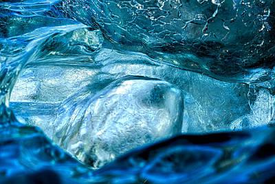 Photograph - Iceberg Details #8 - Iceland by Stuart Litoff