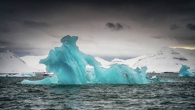 Photograph - Iceberg II by James Billings