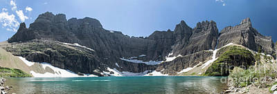 Photograph - Iceberg Lake Panoramic - Glacier National Park by Jason Kolenda