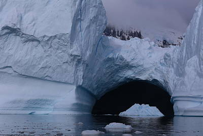 Photograph - Iceberg Passthrough by Andrei Fried