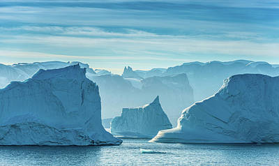 Iceberg View - Greenland Travel Photograph Art Print