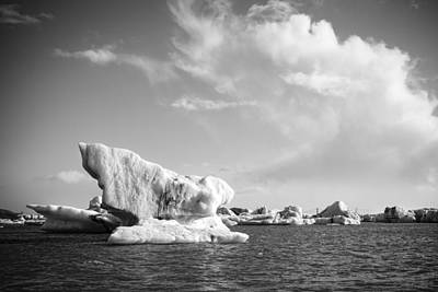 Photograph - Icebergs by Alexey Stiop