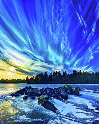 Downeast Maine Photograph - Icebound 3 by ABeautifulSky Photography by Bill Caldwell