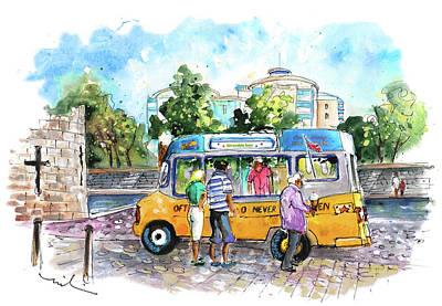 Painting - Icecream Van In York 02 by Miki De Goodaboom