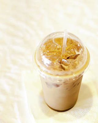 Iced Coffee 1 Art Print