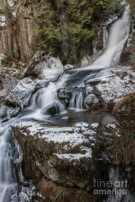 Photograph - Iced Falls by Rod Wiens