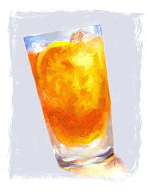 Painting - Iced Tea by Jai Johnson