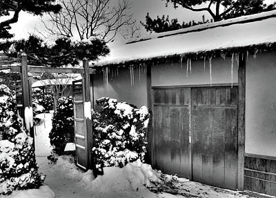 Photograph - Iced Teahouse by David Bearden