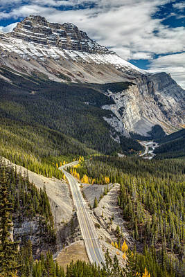 Photograph - Icefield Parkway Scenic Drive by Pierre Leclerc Photography
