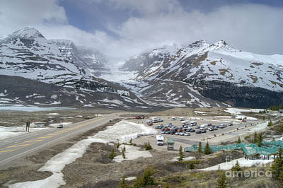 Photograph - Icefields Parkway Highway 93 by David Birchall
