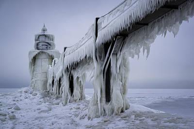 Riddler Photograph - Icehouse by Ian Riddler