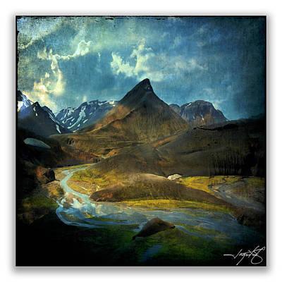 Iceland 19 Art Print by Ingrid Smith-Johnsen