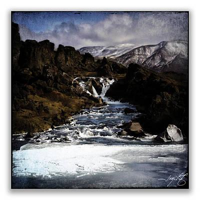 Iceland 37 Art Print by Ingrid Smith-Johnsen