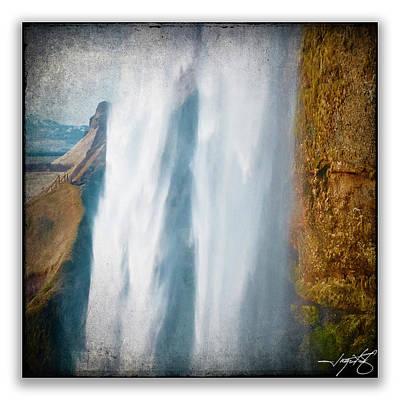 Iceland 6a Art Print by Ingrid Smith-Johnsen