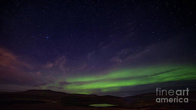Photograph - Iceland Aurora by Jerry Fornarotto