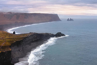 Photograph - Iceland Coast by Dana Plourde