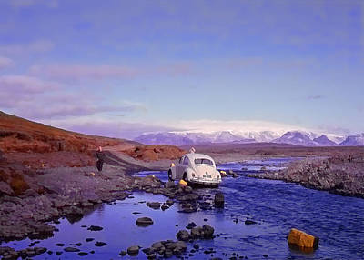 Photograph - Iceland Day Trip by Richard Goldman