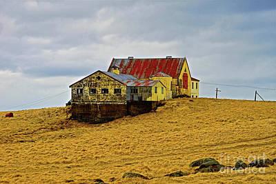 Photograph - Iceland Farmhouse  by Michael Cinnamond