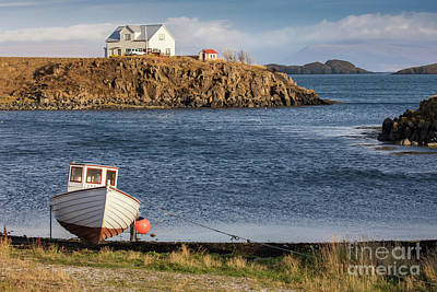 Photograph - Iceland Fishing Boat 1 by Jerry Fornarotto
