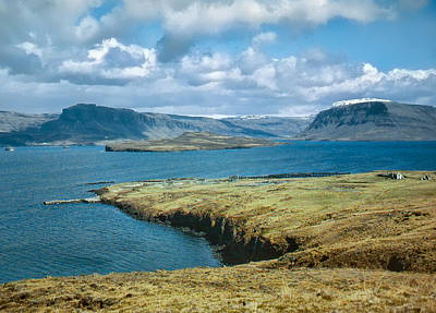 Photograph - Iceland Fjord 1962 by Richard Goldman