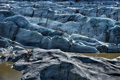 Photograph - Iceland Glacier Ice by Dave Dilli