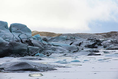 Photograph - Iceland Glacier Mountains Sky Clouds Iceland 2 2142018 1742.jpg by David Frederick