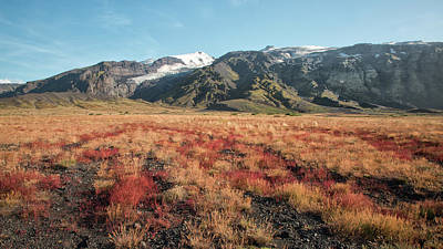 Photograph - Iceland Highlands Autumn by Jack Nevitt