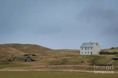 Photograph - Iceland Homestead by Michael Ver Sprill