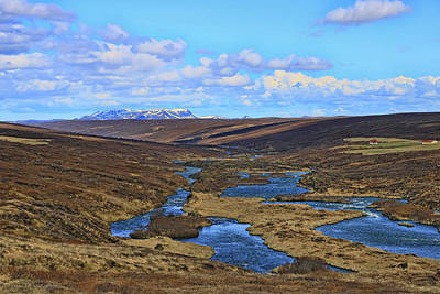 Photograph - Iceland Landscape # 1 by Allen Beatty