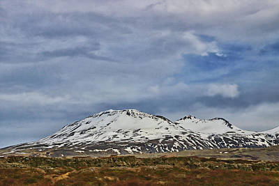 Photograph - Iceland Landscape # 12 by Allen Beatty