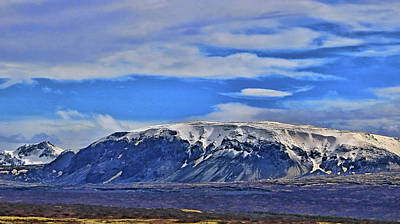 Photograph - Iceland Landscape # 13 by Allen Beatty