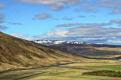 Photograph - Iceland Landscape # 15 by Allen Beatty