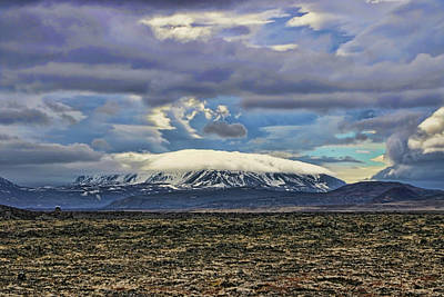 Photograph - Iceland Landscape # 4 by Allen Beatty