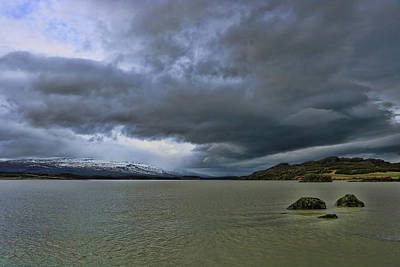 Photograph - Iceland Landscape # 5 by Allen Beatty