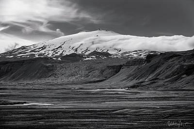Photograph - Iceland Landscape 10, Snaefellsjokull - 0867,hsw by Wally Hampton