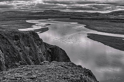 Photograph - Iceland Landscape 2 - 1441,hsw by Wally Hampton