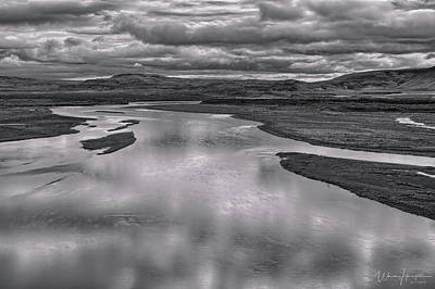 Photograph - Iceland Landscape 3 - 1465,hsw by Wally Hampton
