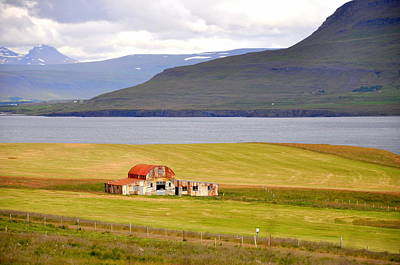 Photograph - Iceland Landscape by Ambika Jhunjhunwala