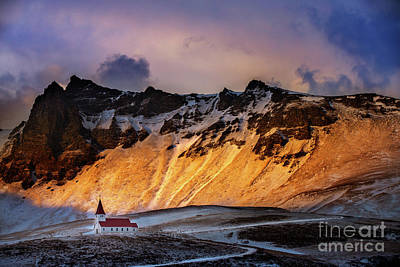 Photograph - Iceland Landscape by Anna Om