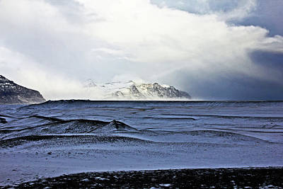 Photograph - Iceland Lava Field Mountains Clouds Iceland Lava Field Mountains Clouds Iceland 2 282018 1837.jpg by David Frederick