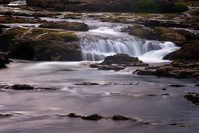 Photograph - Iceland Stream by Tom Singleton