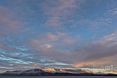 Photograph - Iceland Sunrise by Jerry Fornarotto
